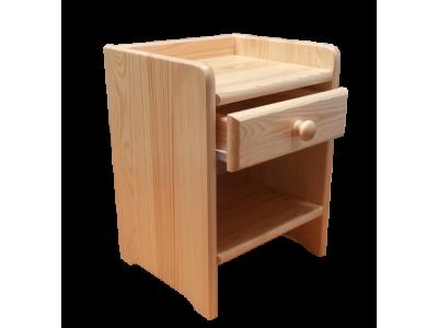 Noční stolek Borovice 1SU