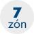 7 anatomických zón